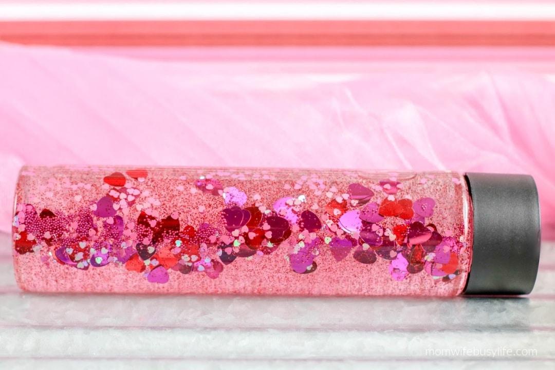 Valentine's Day Sensory Bottle for Kids