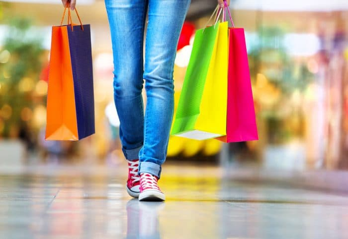 how to shop with a teenager