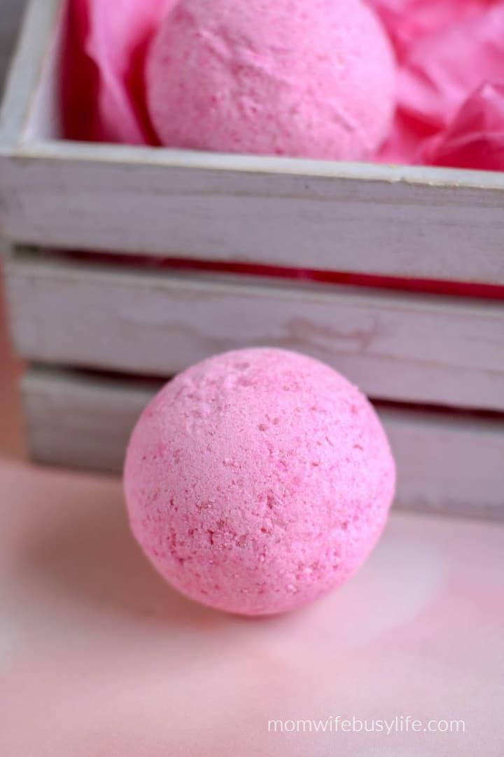 valentines day bath bombs