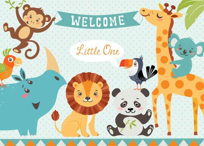 Jungle Baby Shower Decorations Mom Wife Busy Life