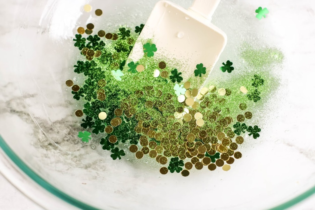 St. Patrick's Day Shamrock Slime