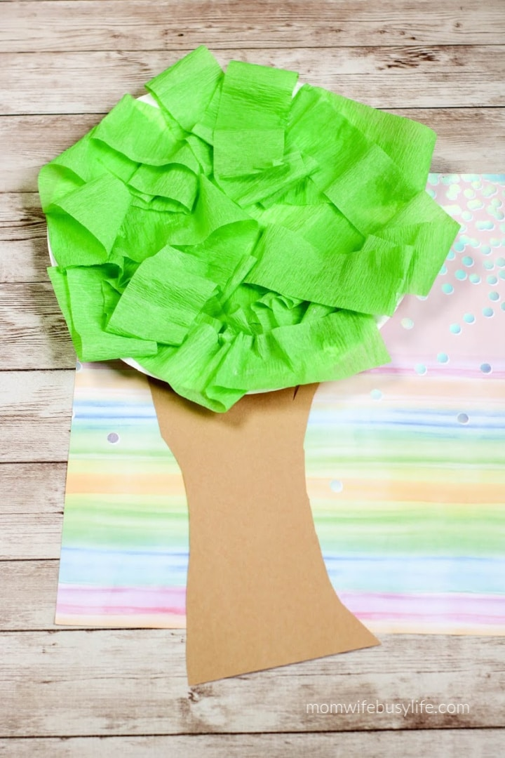 Earth Day Tree Craft for Kids