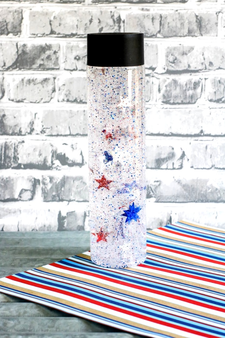 Patriotic Sensory Bottle