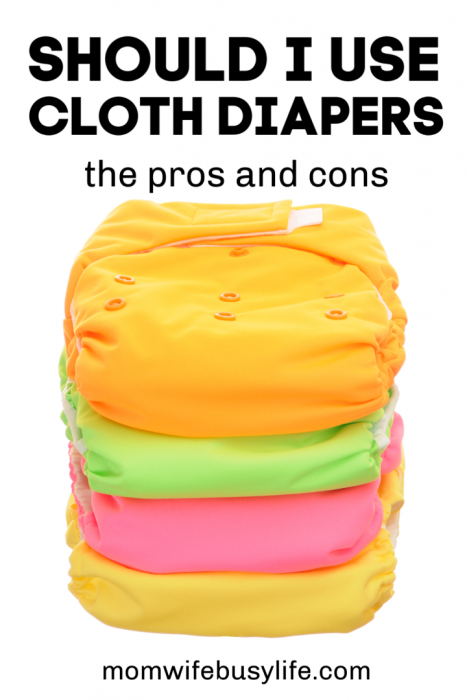 Advantages and Disadvantages of Cloth Diapers