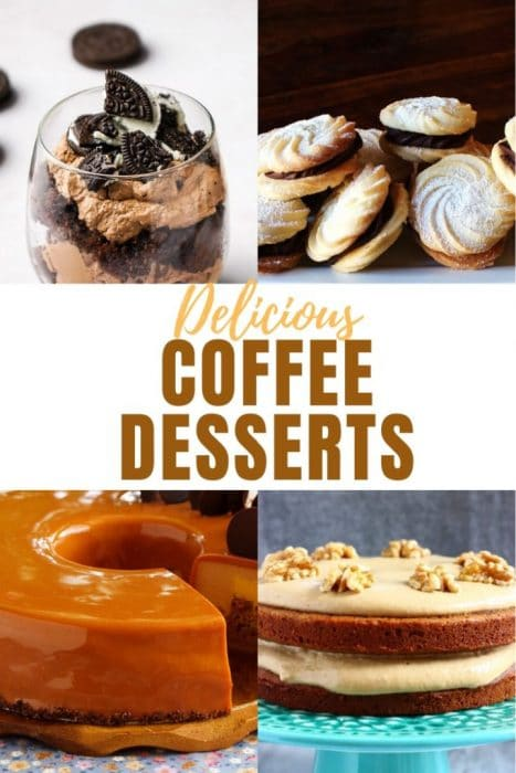 Coffee Flavored Desserts