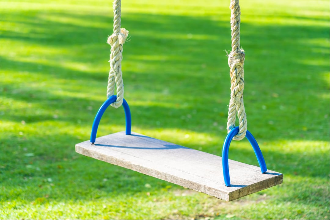 Safety Tips for a Child's Backyard Swing Set
