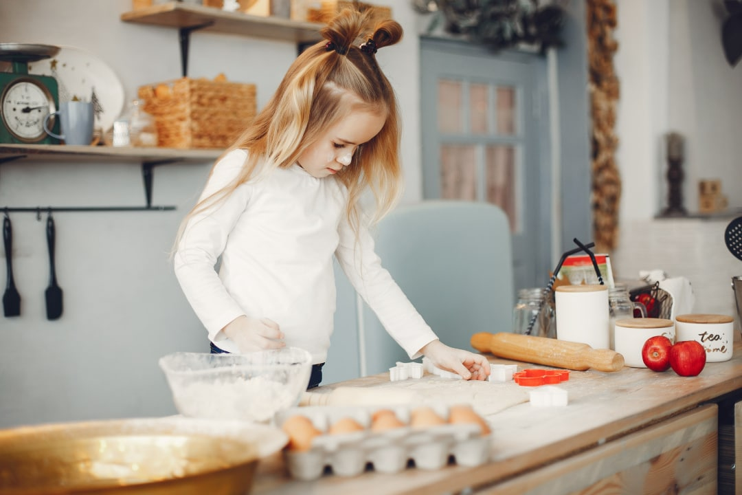 What Do Kids Learn While Cooking?