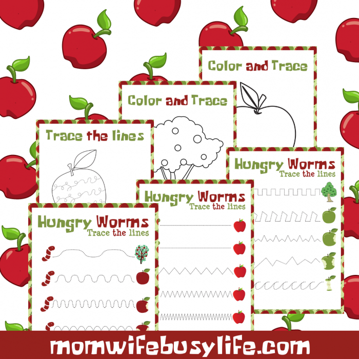 FREE printable Apple Activity Pack