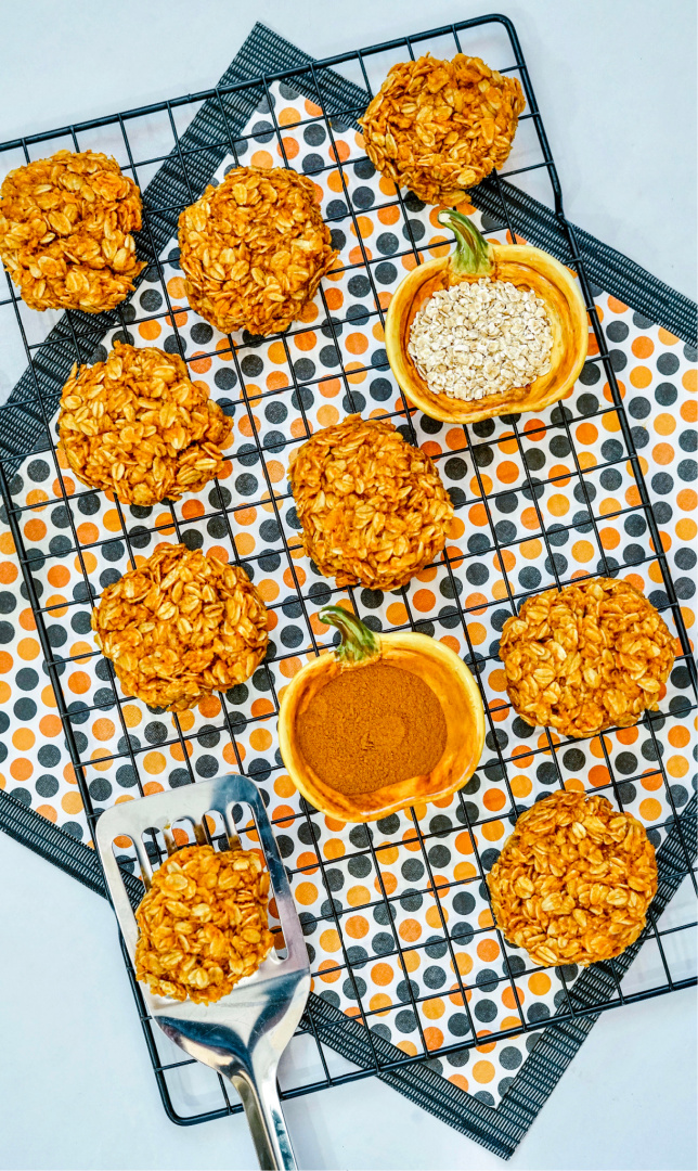 No-Bake Pumpkin Cookies
