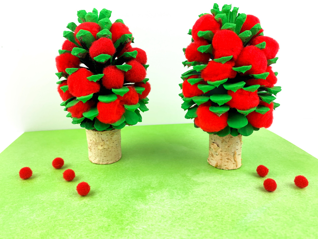 Pine Cone Apple Tree