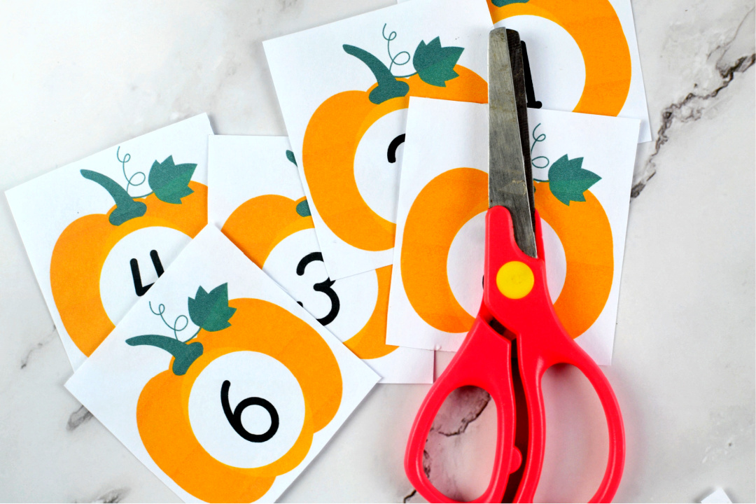 Pumpkin Counting Activity
