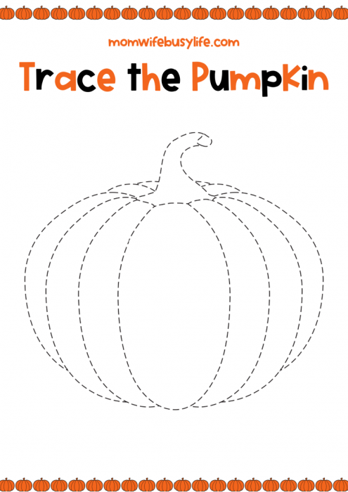 FREE Printable Pumpkin Activity Pack