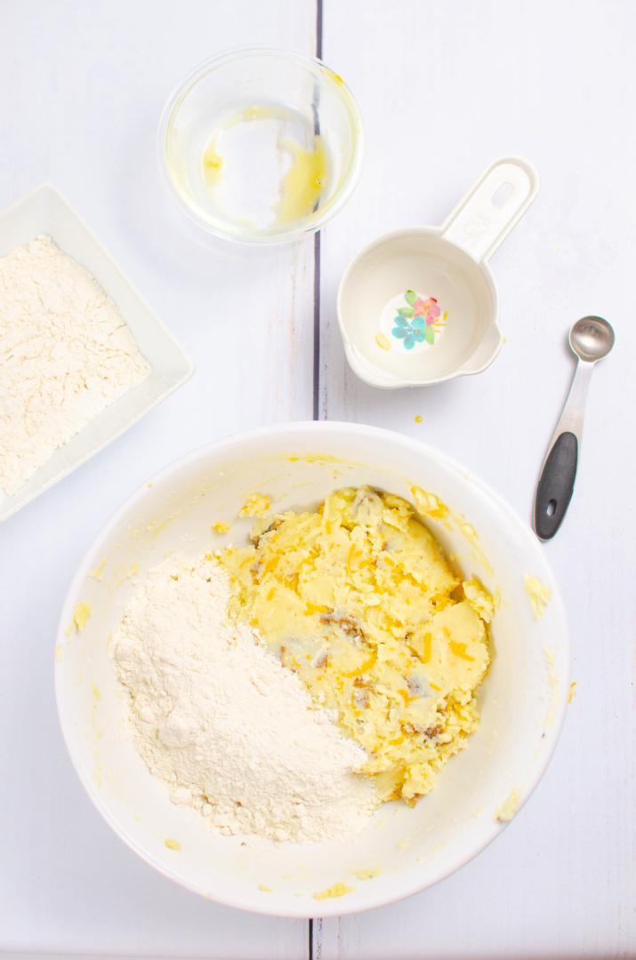 potato pancakes with flour