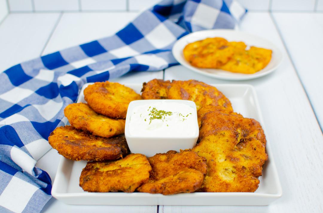 Easy Cheesy Potato Pancakes