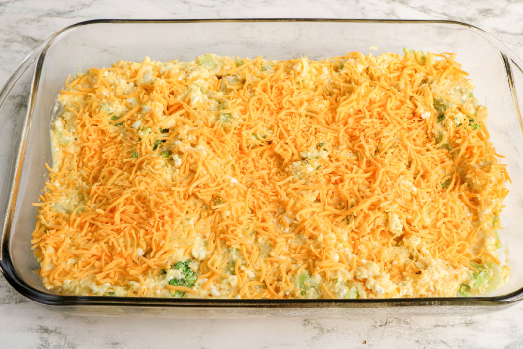 Broccoli Cornbread Pre-baked