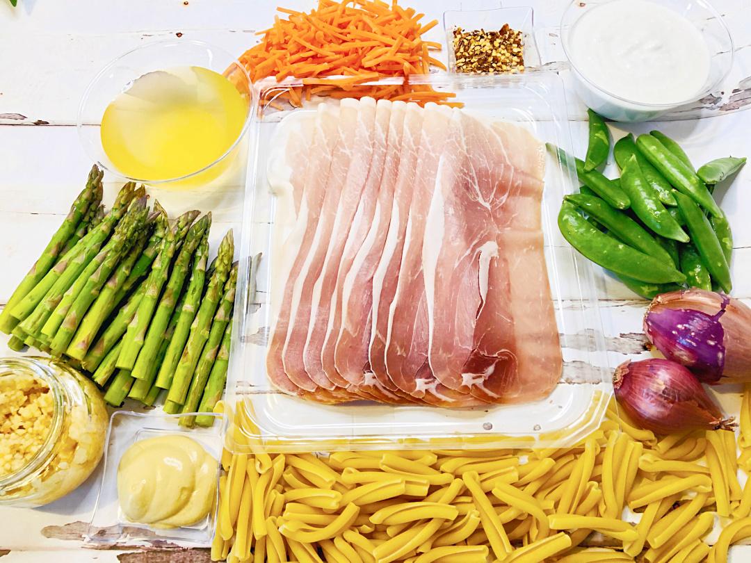 Casarecce Pasta Primavera Ingredients