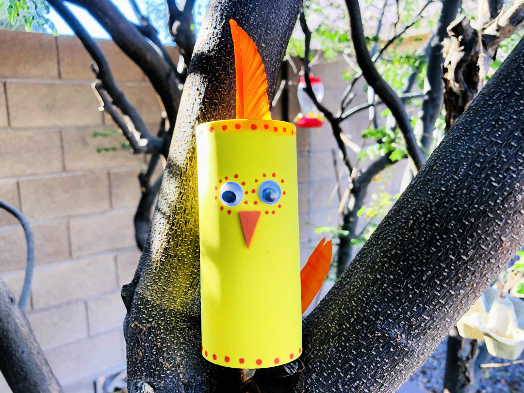 Chicken Toilet Paper Roll Craft