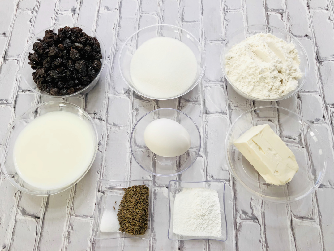 Irish Bread Ingredients
