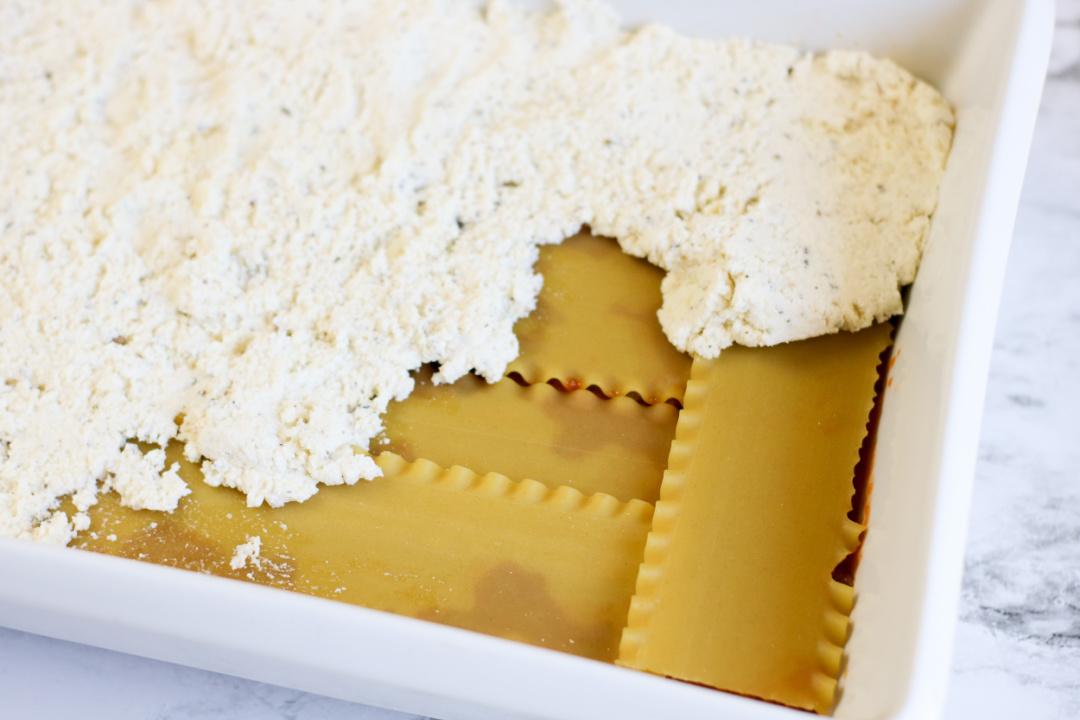 lasagna noodles with ricotta