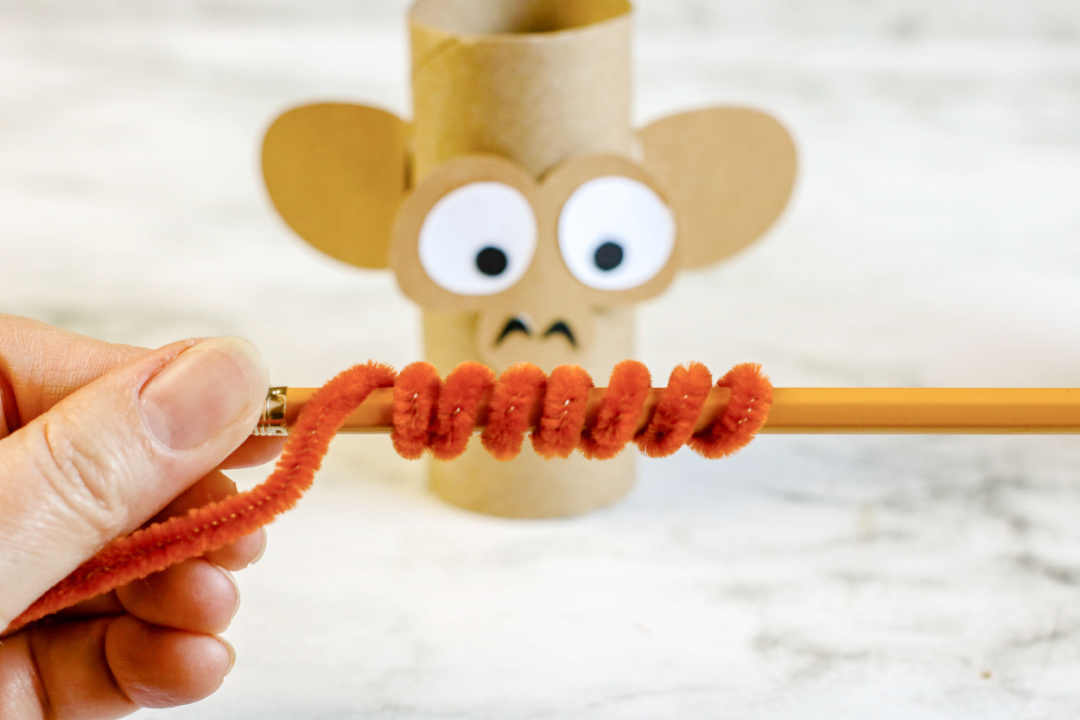 monkey tail pipe cleaner