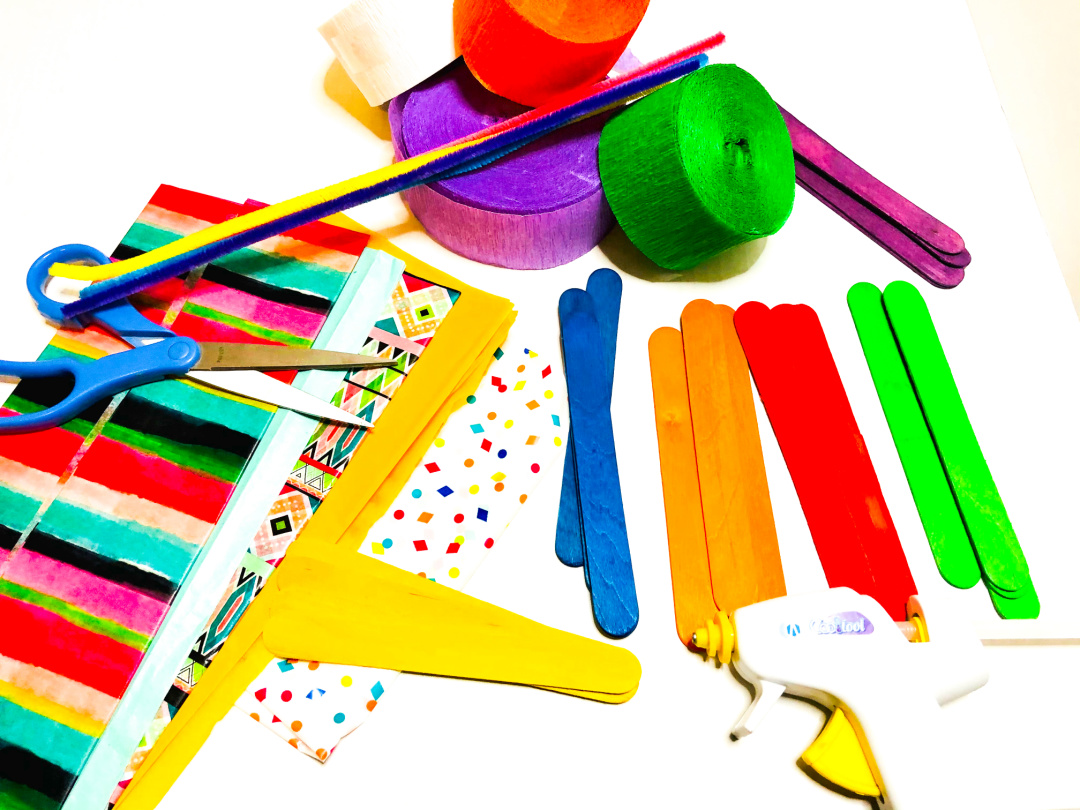 kite popsicle stick craft supplies