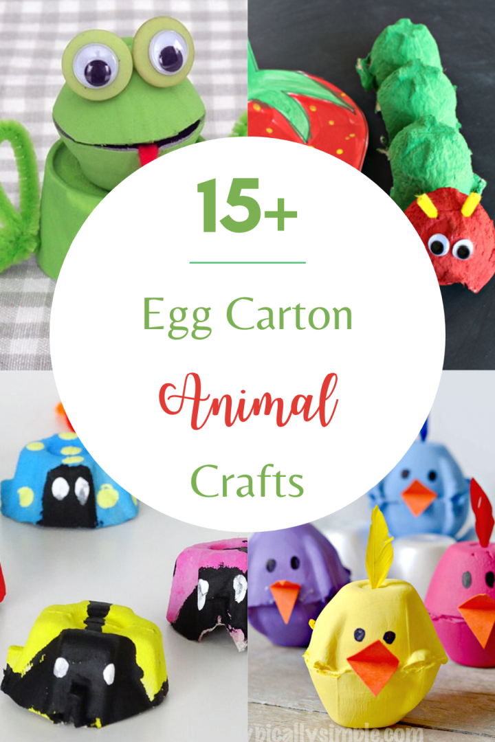 Egg Carton Animal Crafts