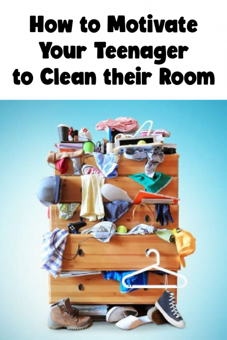 How to Motivate Your Teenager to Clean Their Room