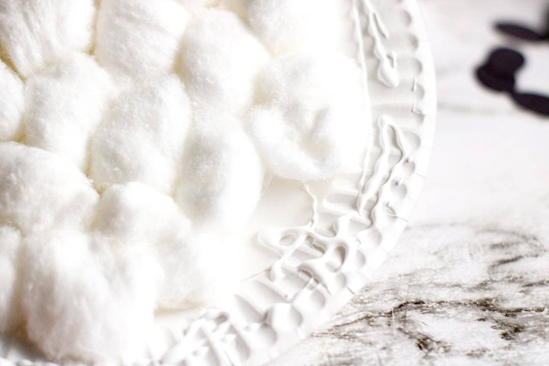 lamb paper plate craft cotton balls