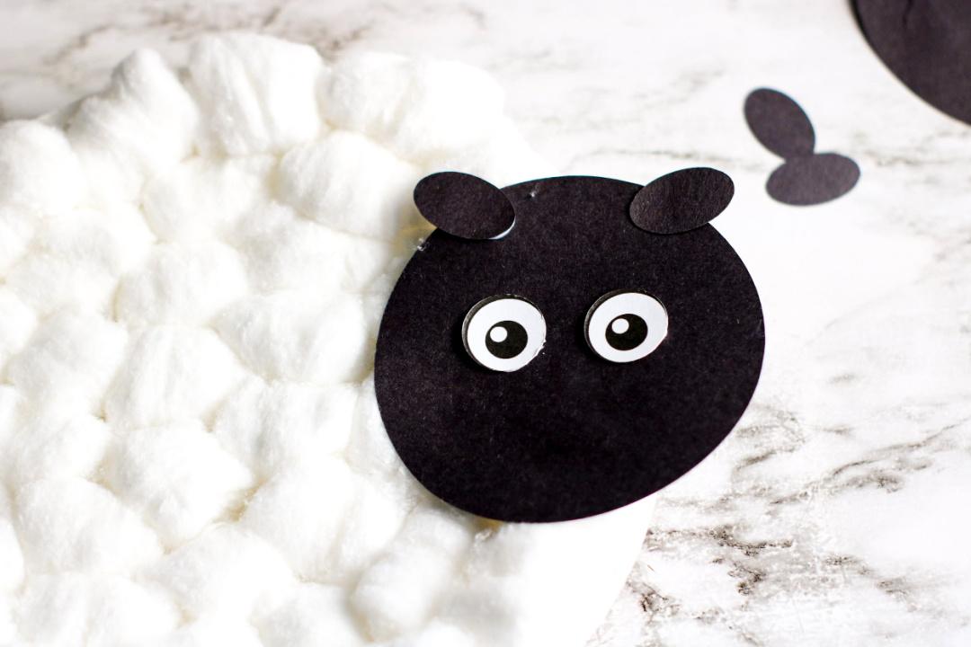 lamb paper plate craft