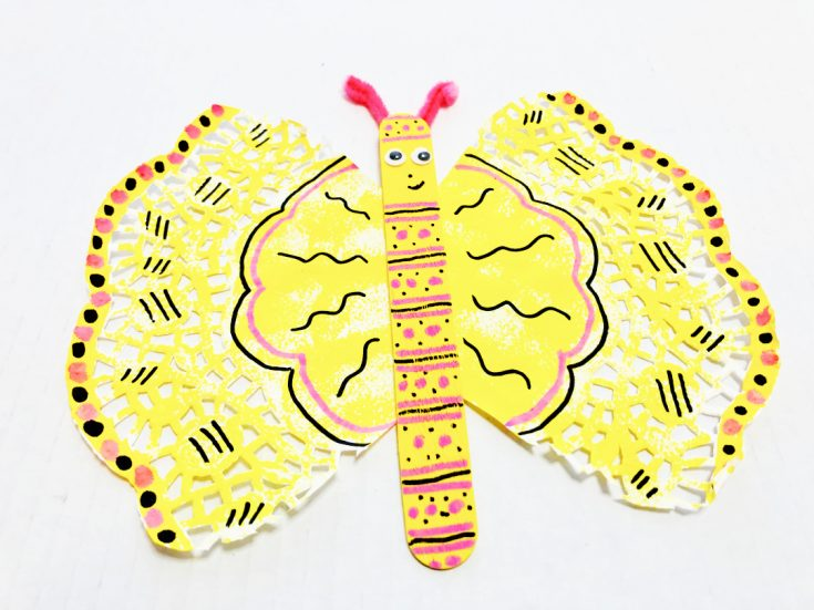 Butterfly Popsicle Stick Craft