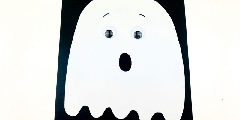 Construction Paper Ghost