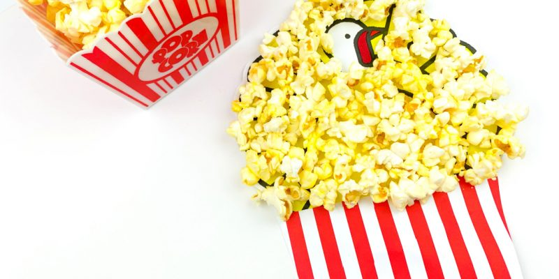 Disguise a Turkey Popcorn