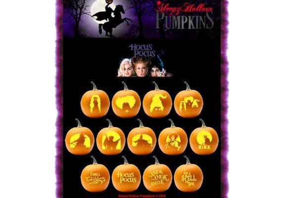 Hocus Pocus Pumpkin Stencil