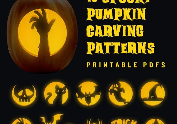 Printable Pumpkin Stencils