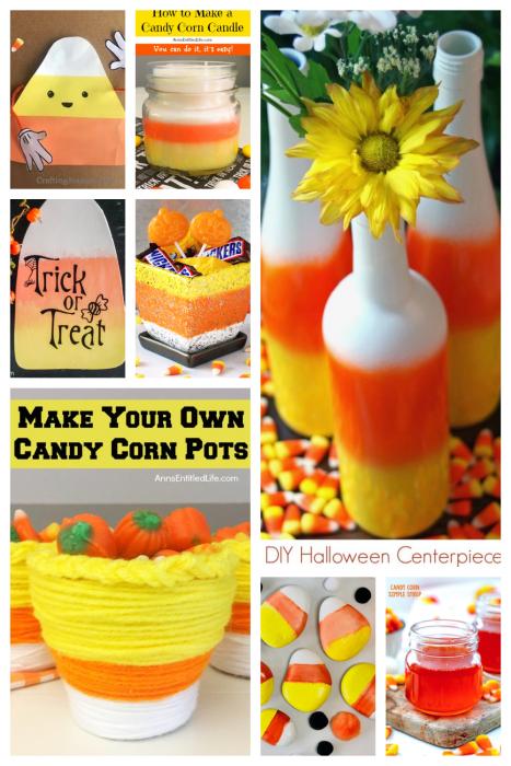 candy corn crafts